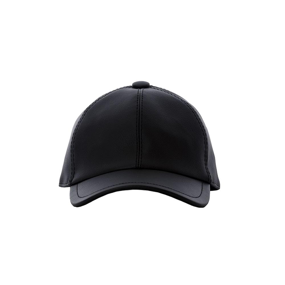 Vegan Leather Baseball Hat Handmade in Italy HUMNZR