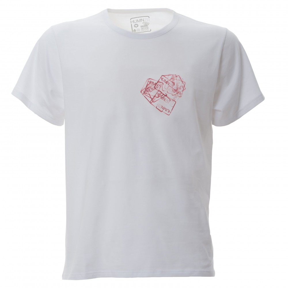 Eco Friendly Organic Cotton T-Shirt Made in Italy HUMNZR