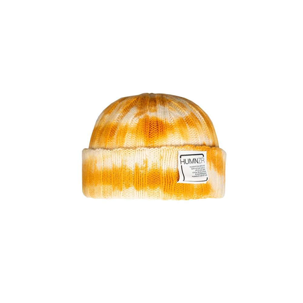 Recycled Cashmere Tie-Dye By Hand Beanie Hat Tokyo