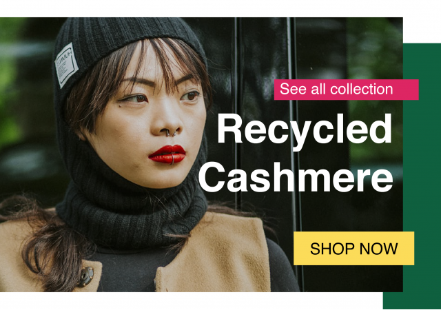 Recycled Cashmere HUMNZR Collection