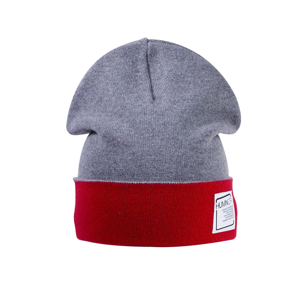 Recycled Cashmere Beanie Hat Berlin Bicolor