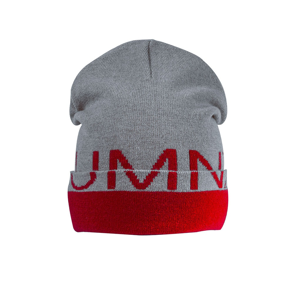 Recycled Cashmere Beanie Hat Berlin Jacquard