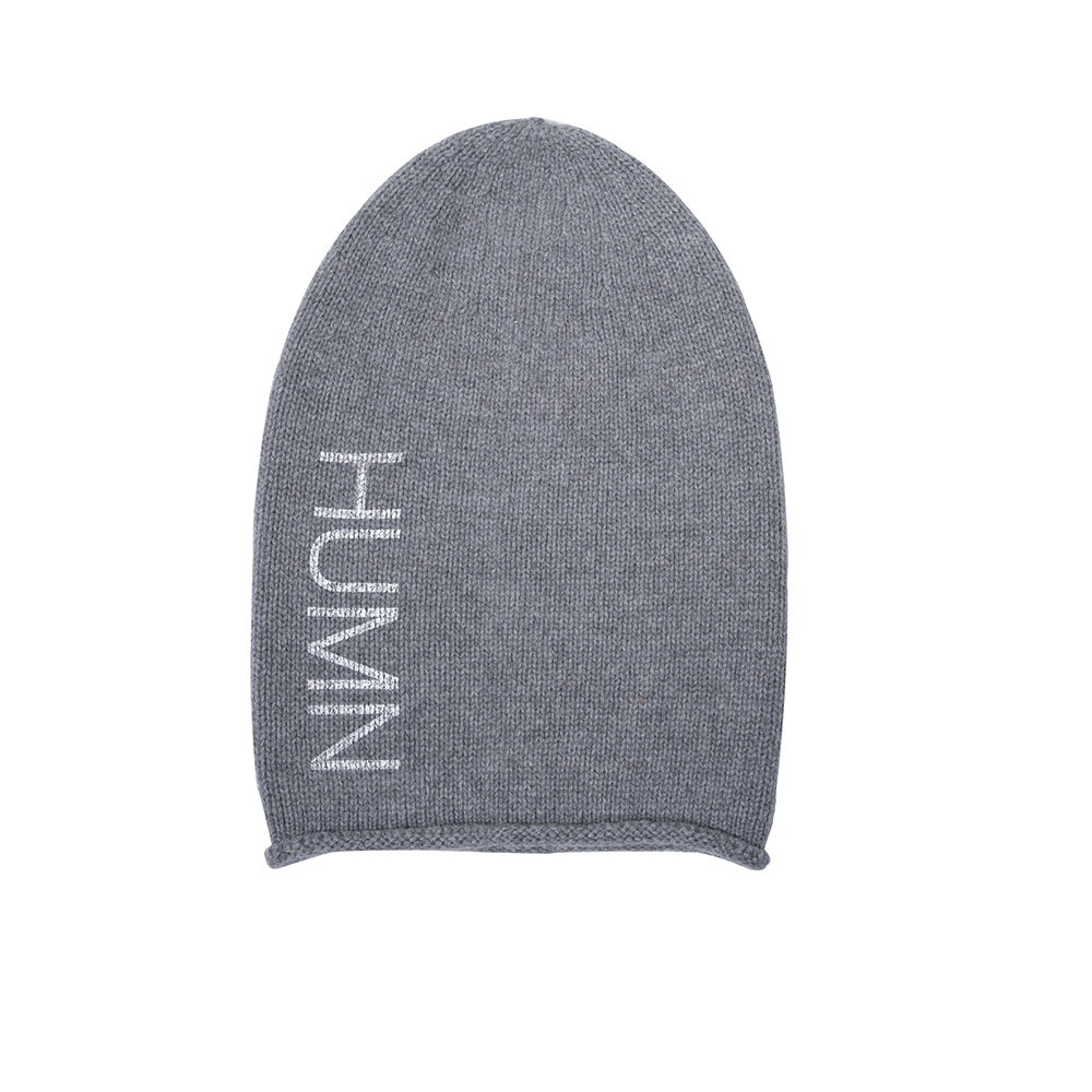 Recycled Cashmere Beanie Hat Denver Plus