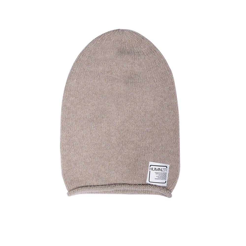 Recycled Cashmere Beanie Hat Denver